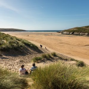 Stunning evenings at Crantock beach