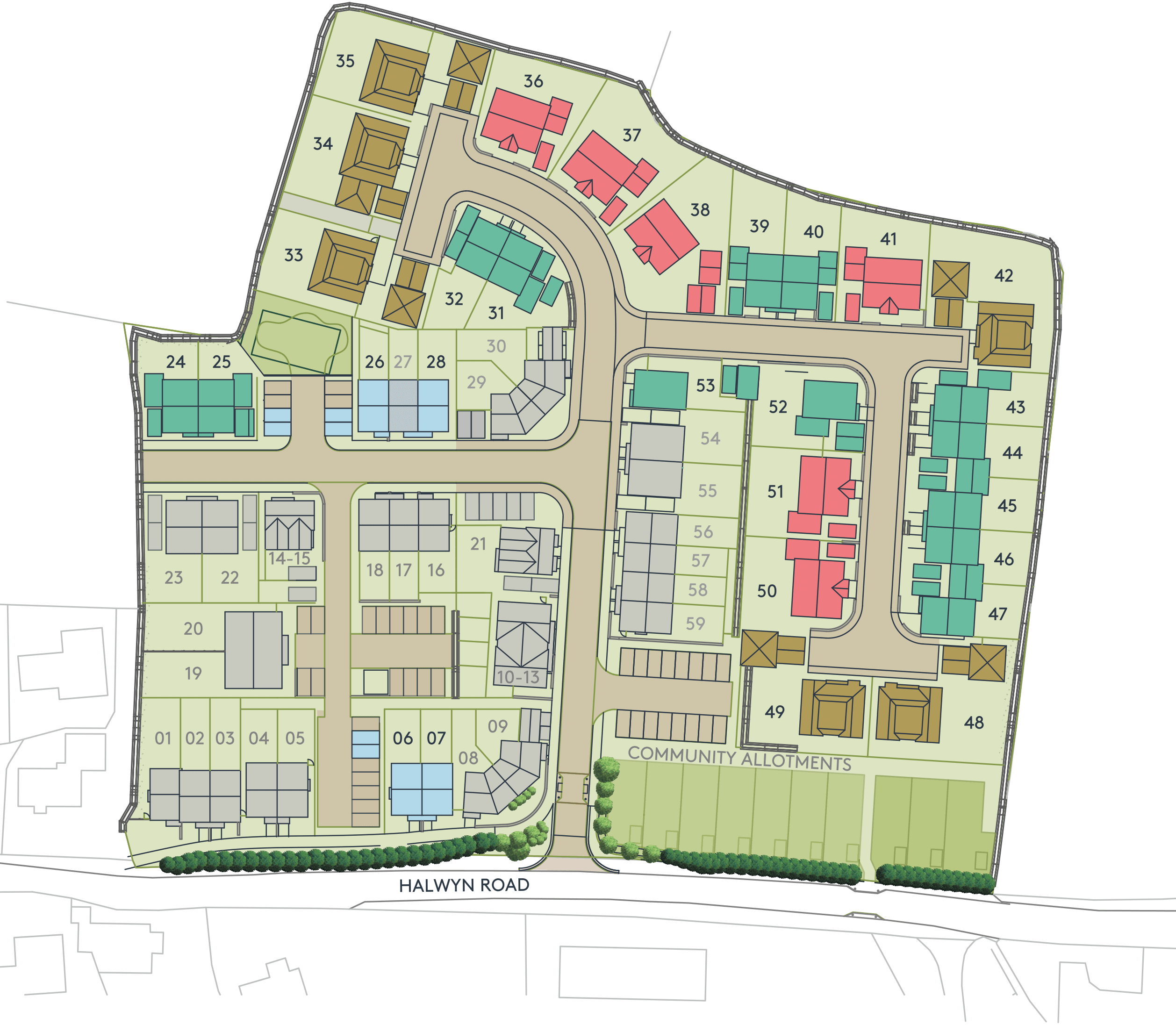 halwyn development plan - Halwyn Meadows